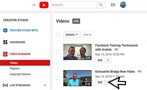 YouTube MP4 Individual Download- Step 1