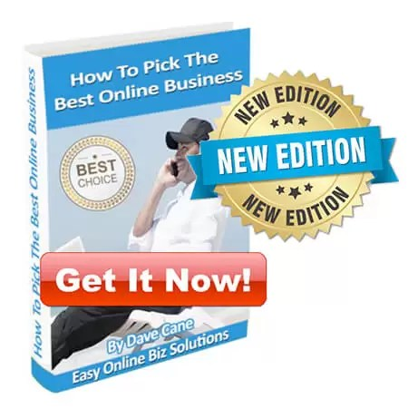 Get How to Pick the Best Online Business EBook Version 3