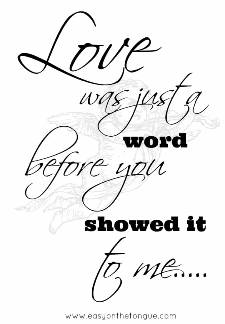 Love quotes to share with your other half