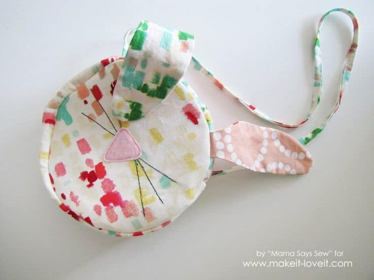 Easter bunny purse The 10 Best adorable Easter DIY gift inspirations & printables