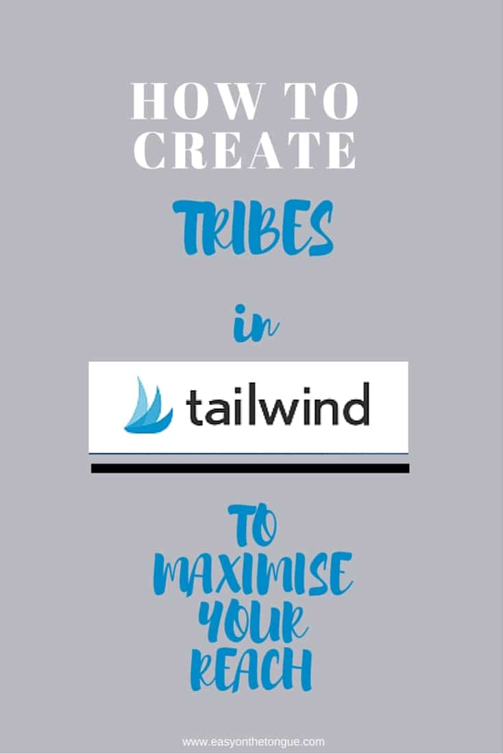 HOW to createTribes in tailwind Pinterest How to create a 'Tribe' in Tailwind to maximize your reach!