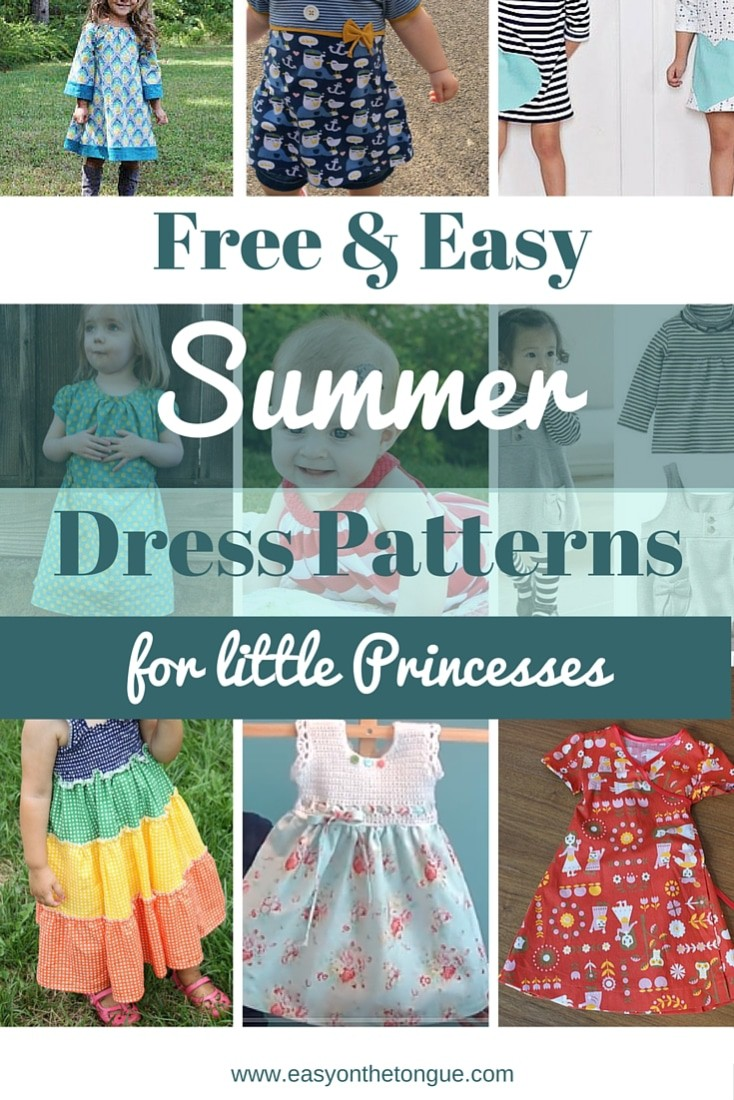 Free Easy Baby Dress Patterns To Sew - raveitsafe