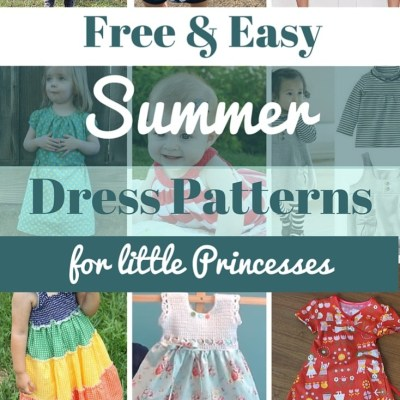 Free & Easy Summer dress patterns for little girls
