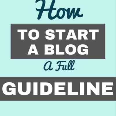 How to start a blog – The Free Map Outline