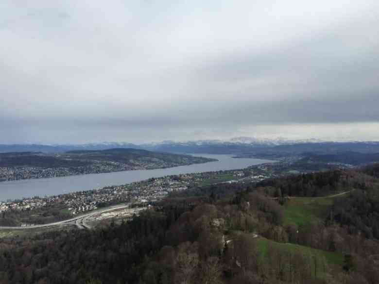 Zurich Uetliberg How to visit Zurich on a student budget – free tips