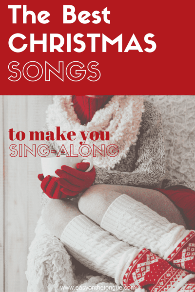The best Christmas songs for you to sing along (classics and all time favourites) for 3 glorious hours - get the video at www.easyonthetongue.com