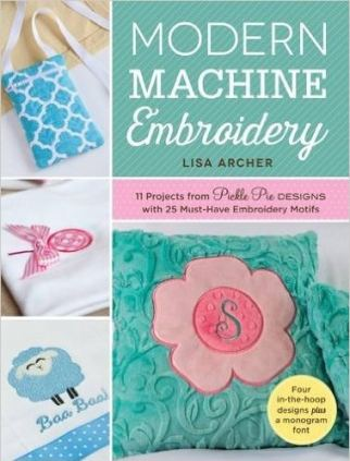Modern Machine Embroidery by Lisa Archer My choice of the Best Books on Machine Embroidery