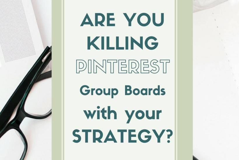 Are you Killing Pinterest Group Boards with your strategy. Do you agree? Click to read the full post at www.easyonthetongue.com