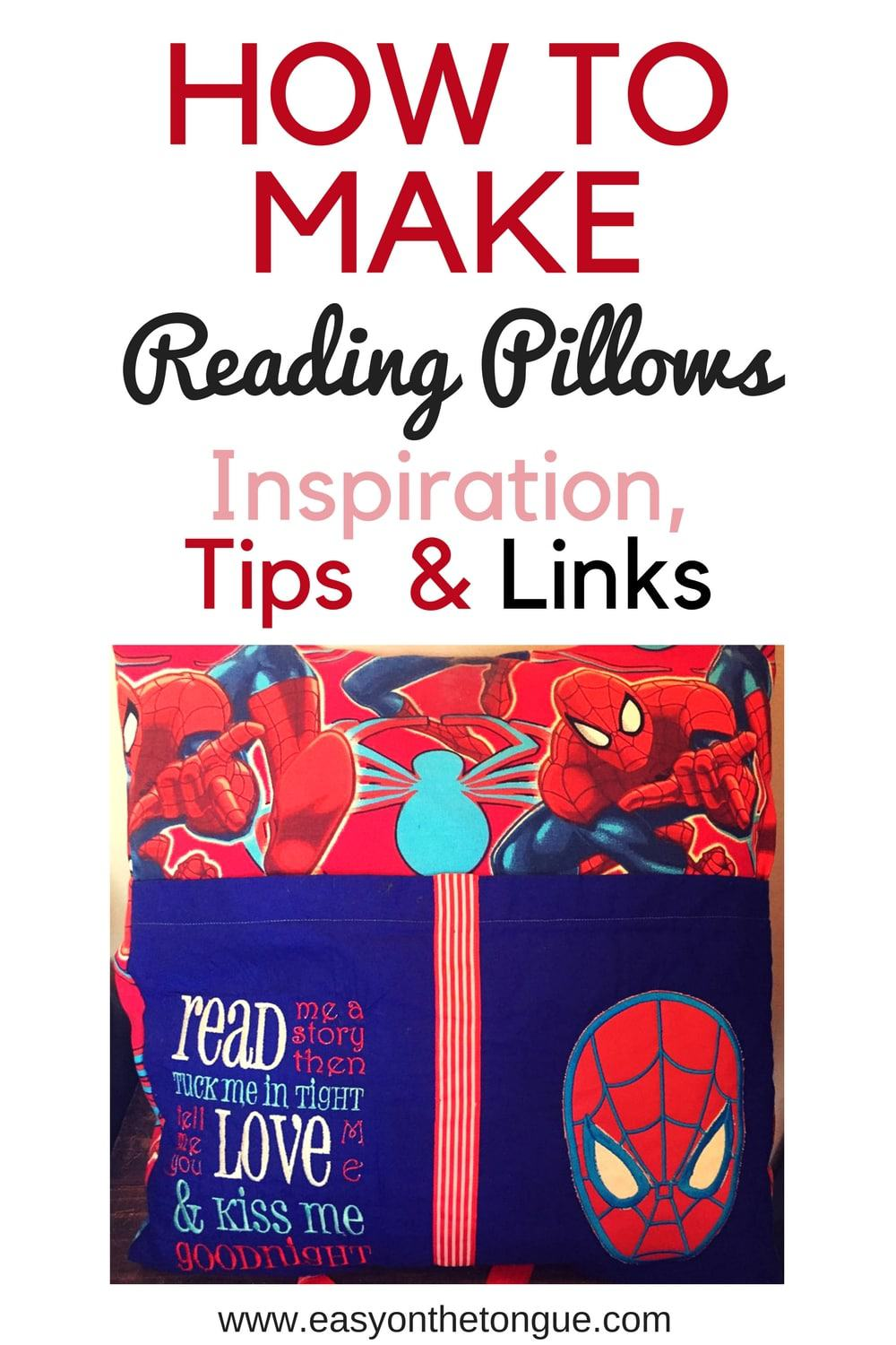 How To Make Reading Pillows Inspiration Tips Links,Diy Phone Case Design Ideas
