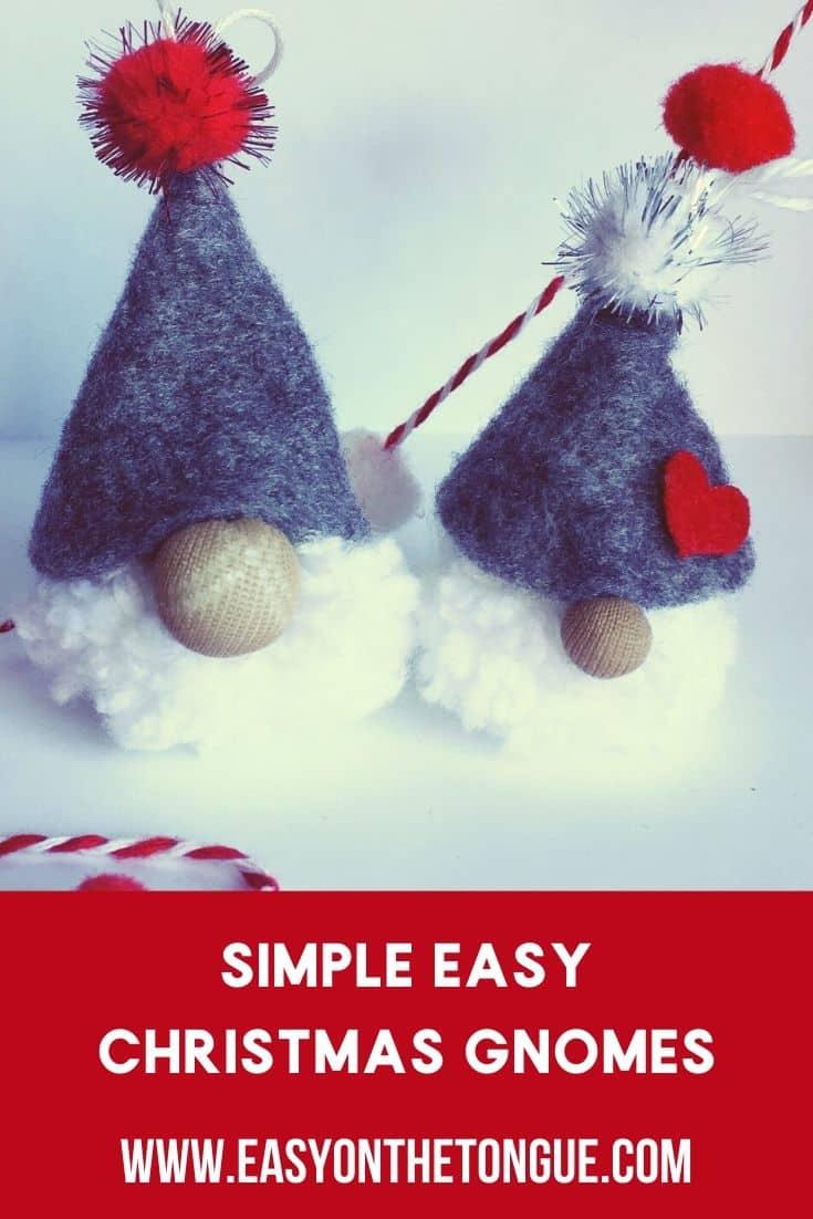easy Christmas gnomes christmasgnomes makechristmasgnomes