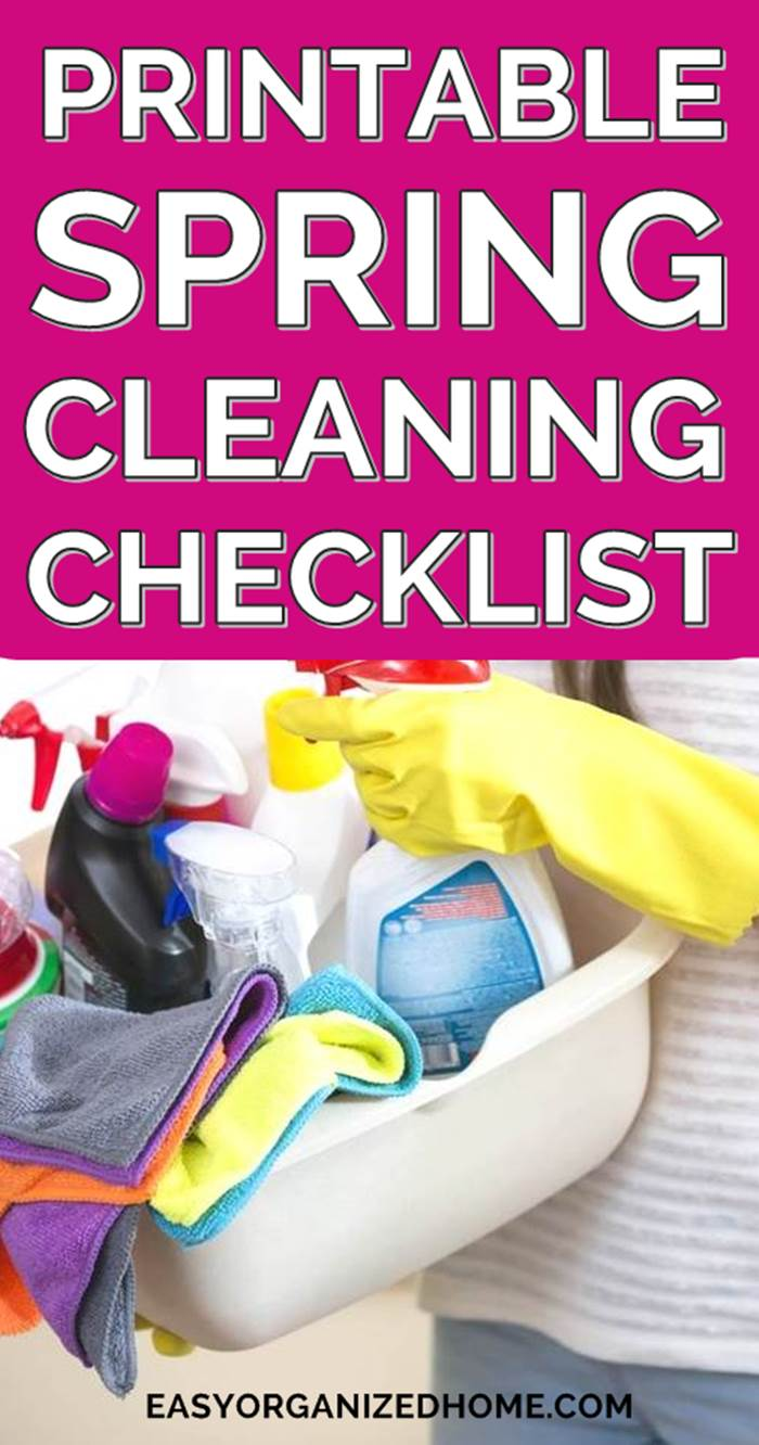 Cleaning check lists for spring cleaning to help you organize your home by room and keep it all clean #cleaning #cleaningtips #cleaninghacks #cleaningtricks #housecleaning #housecleaningtips #housekeeping #springcleaning #springclean
