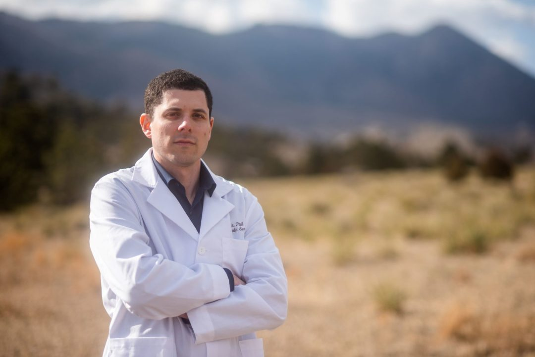 Colorado Springs Orthopedic Surgeon Dr. Daniel Paull Standing Picture
