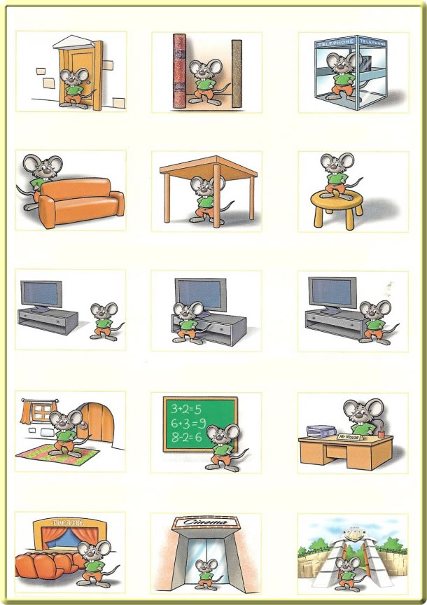 Prepositions Of Place Exercise Learning English