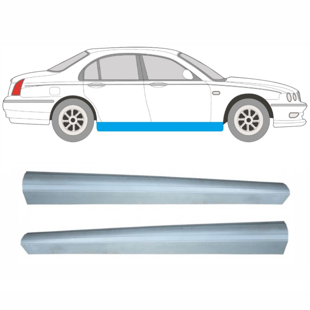 medium resolution of article repair panel sill pair car rover 75