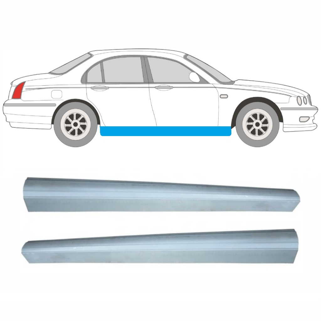 hight resolution of article repair panel sill pair car rover 75