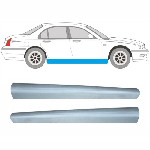 small resolution of article repair panel sill pair car rover 75