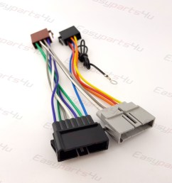 chrysler jeep dodge iso lead wiring harness radio adaptor radio  [ 1500 x 1500 Pixel ]