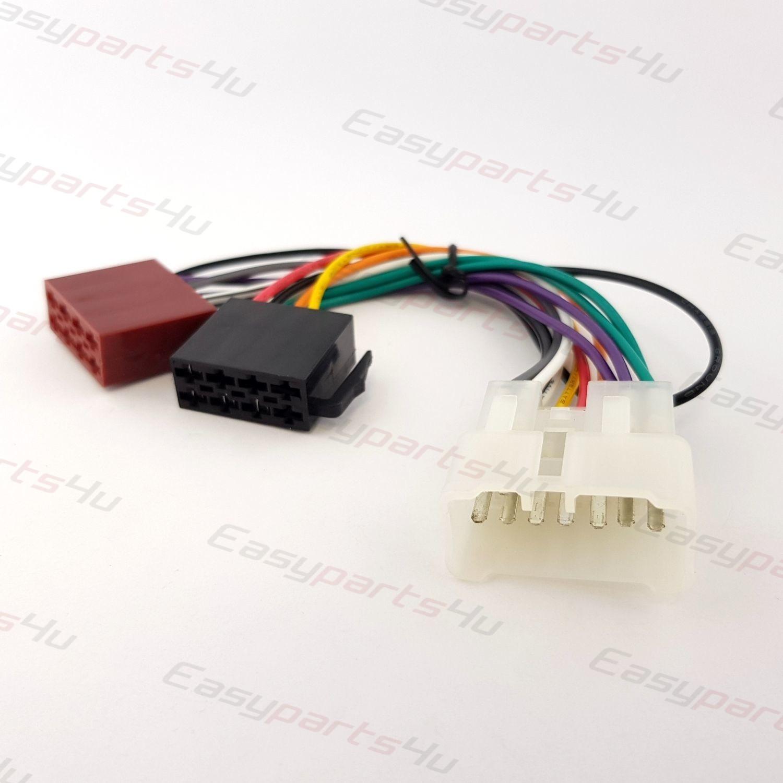 hight resolution of suzuki baleno alto cappucino ignis swift vitara iso lead wiring car stereo radio iso wiring harness connector cable for suzuki