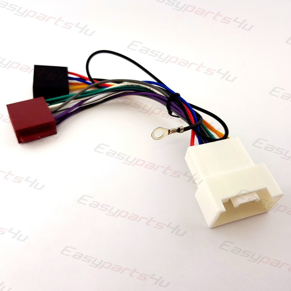 medium resolution of mitsubishi lancer shogun outlander iso lead wiring harness radio mitsubishi outlander car stereo wiring harness 2007 onwards without