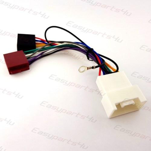 small resolution of mitsubishi lancer shogun outlander iso lead wiring harness radio mitsubishi outlander car stereo wiring harness 2007 onwards without