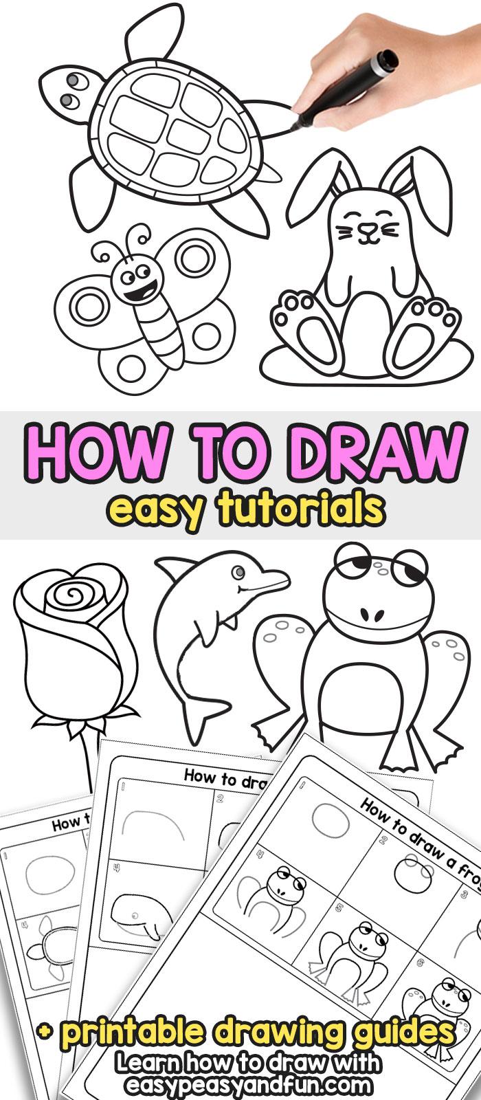 Drawing For Kids Images : drawing, images, Drawing, Beginners, Peasy