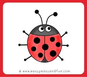 ladybug drawing draw easy simple bugs drawings sketch pencil bug lady ladybugs step printable peasy fun coloring learn easypeasyandfun clipartmag