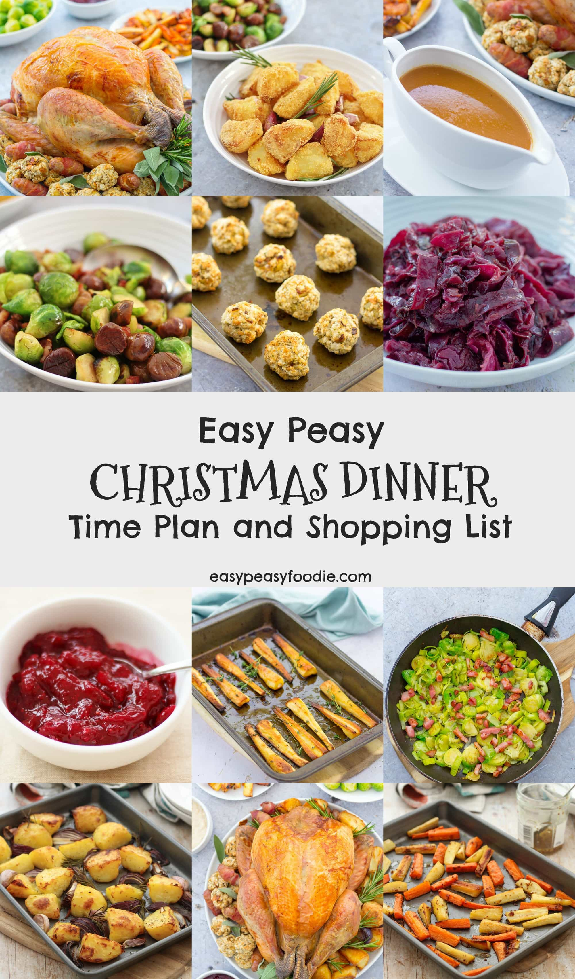 Non Traditional Christmas Dinner Uk : traditional, christmas, dinner, Peasy, Christmas, Dinner, Shopping, Foodie
