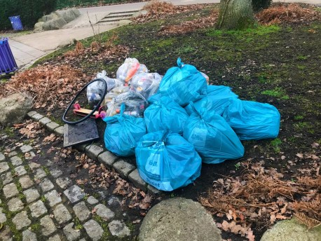 Victoria Park Ashford my first litter pick