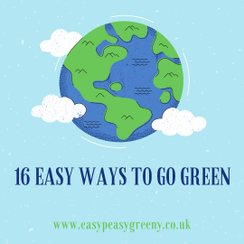 easy ways to go green and towards greener living
