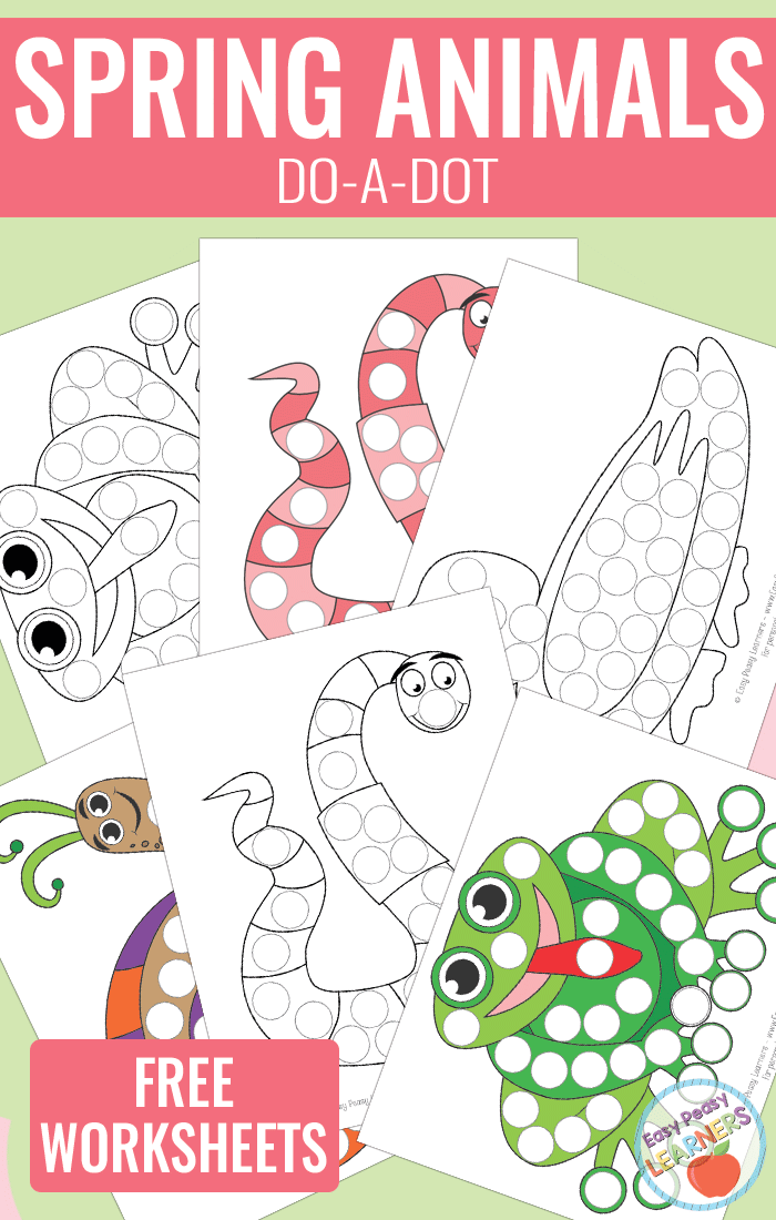 Printables Dot Markers Animals