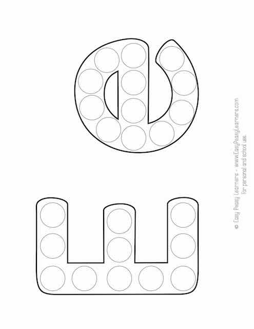 Free Alphabet Do A Dot Printables Easy Peasy Learners