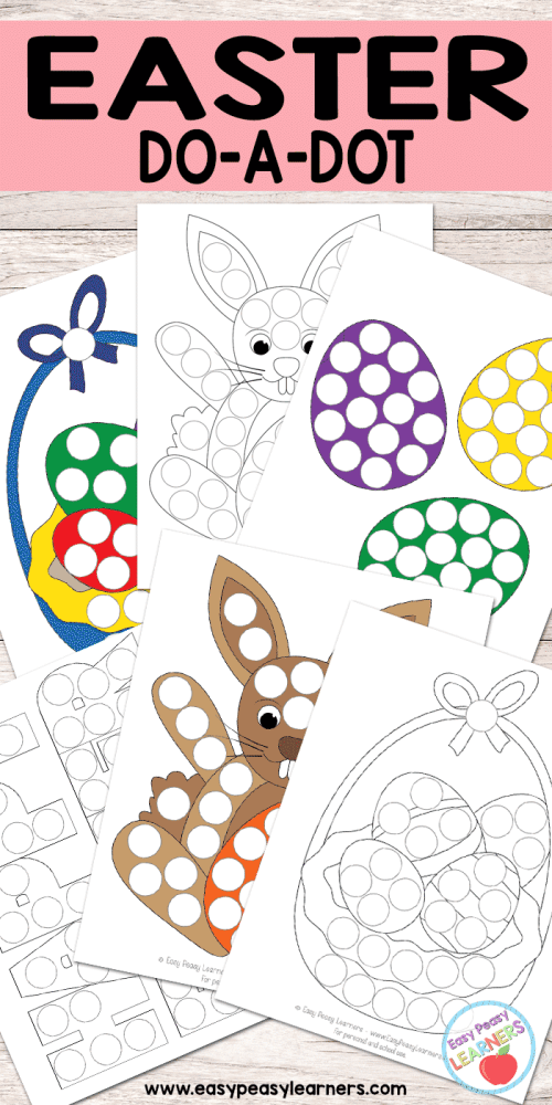 small resolution of Free Easter Do a Dot Printables - Easy Peasy Learners