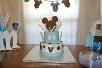 Mickey Mouse Inspired Baby Shower - Easy Peasy Pleasy