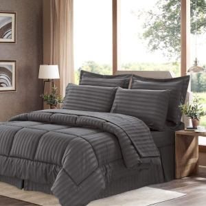 Sweet Home Collection 8 Piece Bed In A Bag
