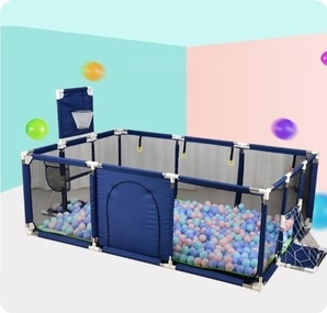 Dog Playpen Fence Play Yard Folding Safety Barrier Game Tent