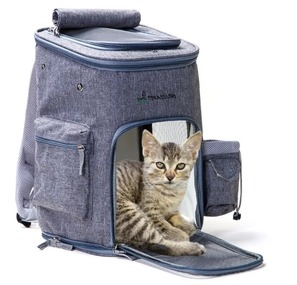 Multifunctional Breathable Mesh Pet Travel Carrier