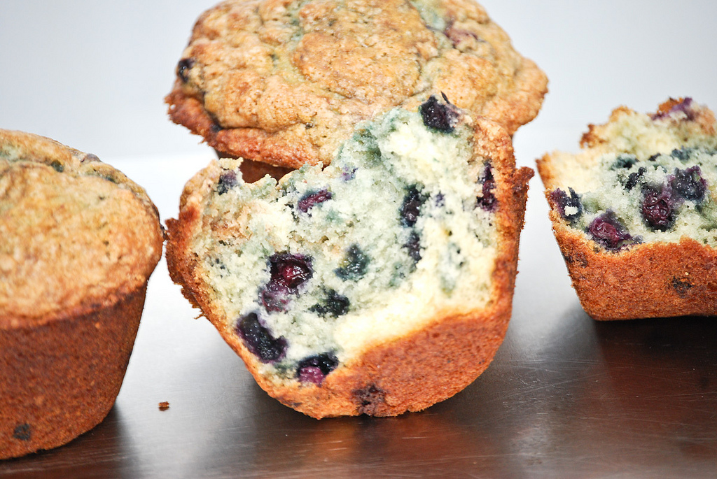 best homemade blueberry muffins recipe