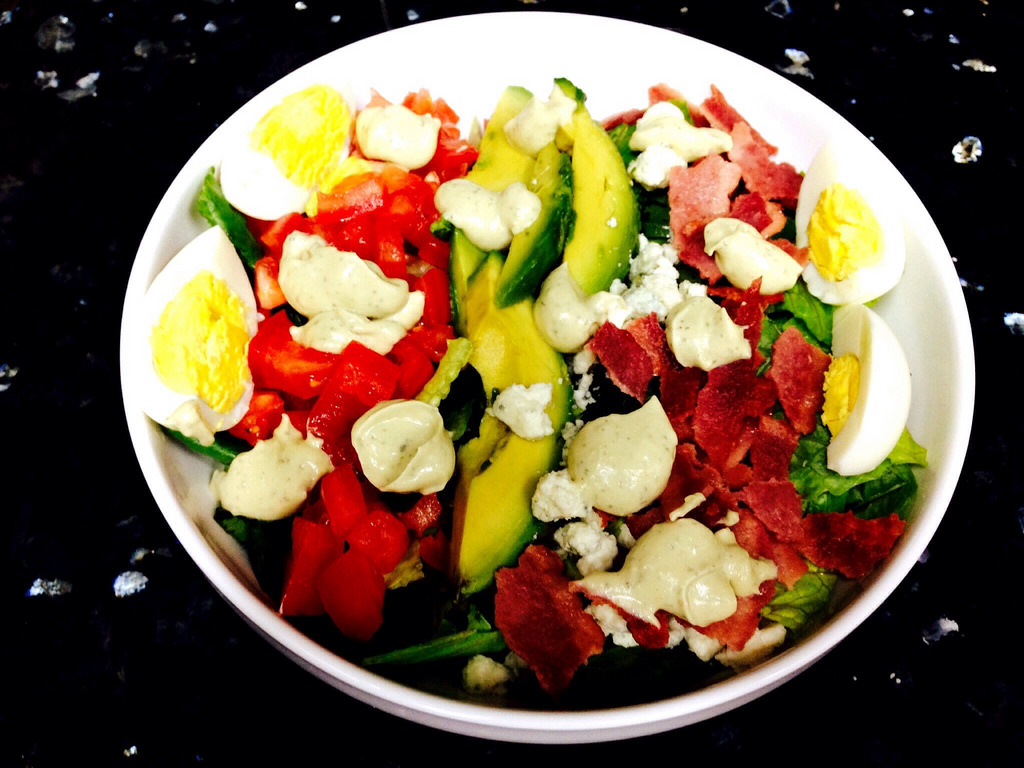 easy healthy cobb salad