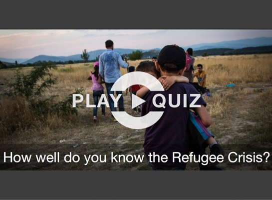 How well do you know the Refugee Crisis? – UNHCR Quiz