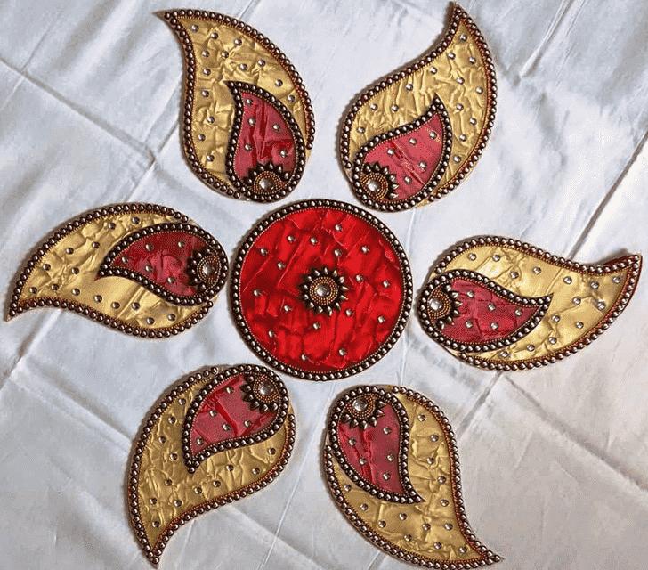 Angelic Acrylic Rangoli