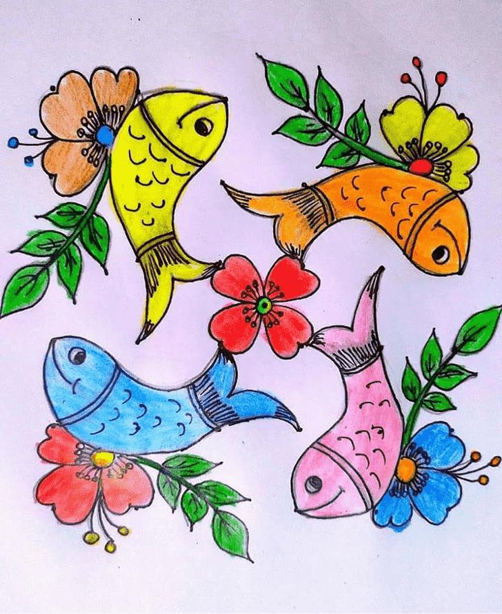 Adorable Art Rangoli