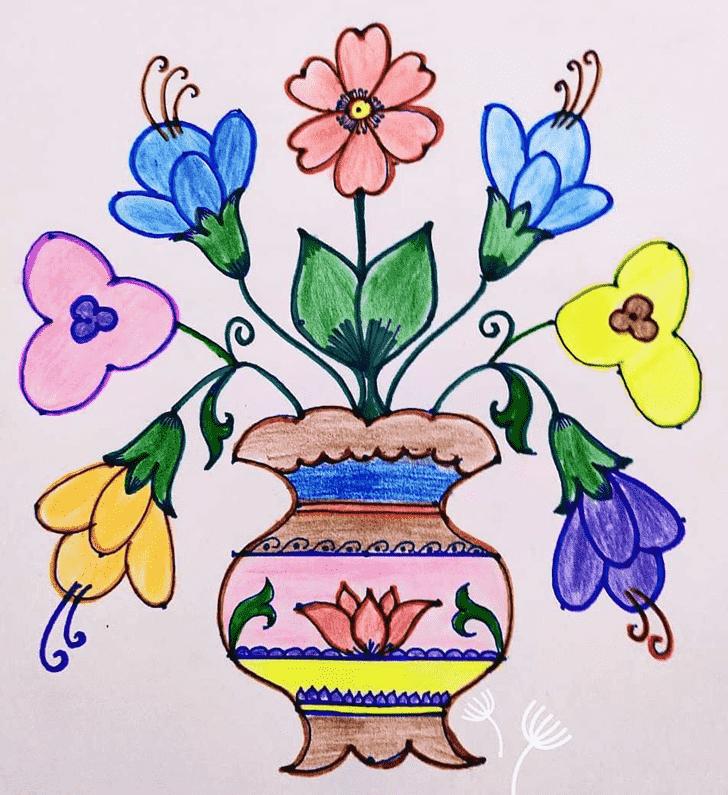 Alluring Art Rangoli