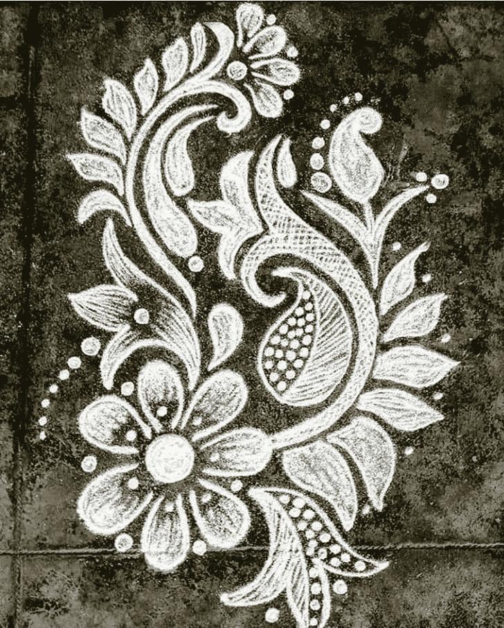 Admirable Attractive Rangoli Design