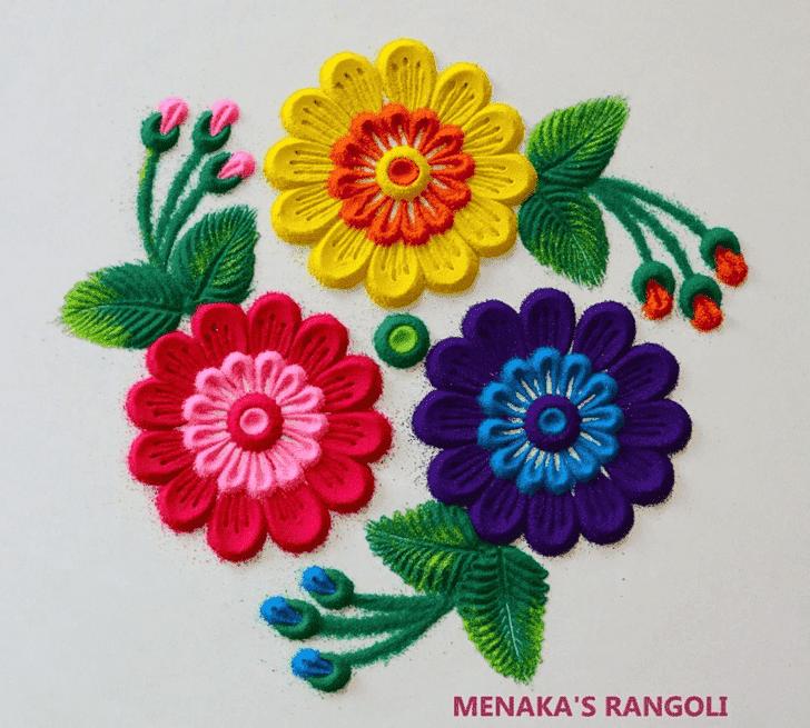 Captivating Concept Rangoli