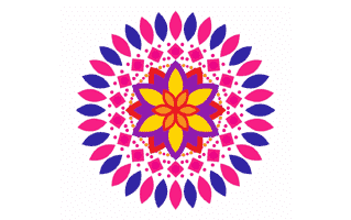 Concept Rangoli Design