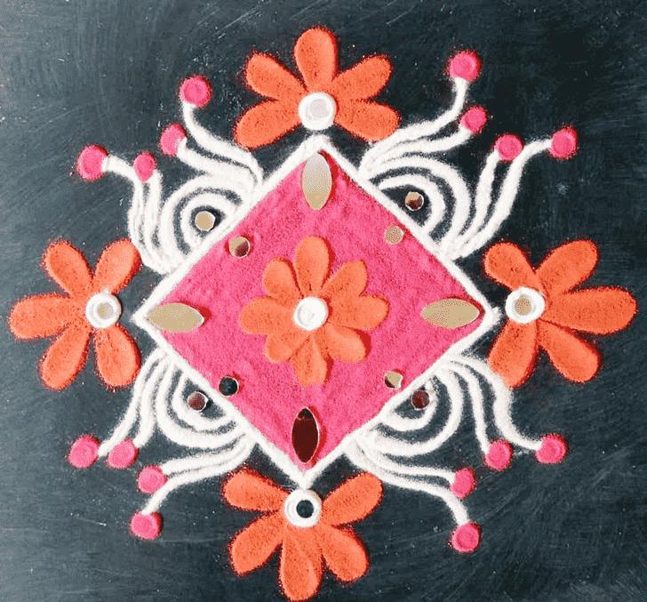 Appealing Creative Rangoli