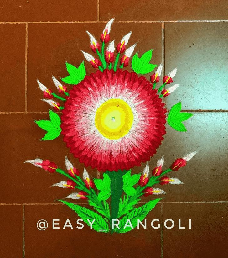 Charming Creative Rangoli