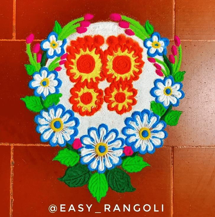 Classy Creative Rangoli