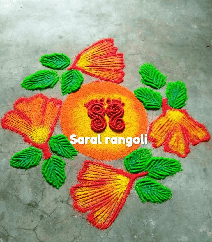Pretty Cute Rangoli