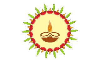 Deepavali Rangoli Design